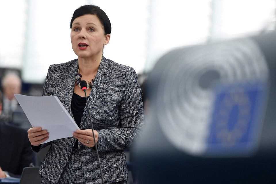 Komisarz UE ds. sprawiedliwości Vera Jourová