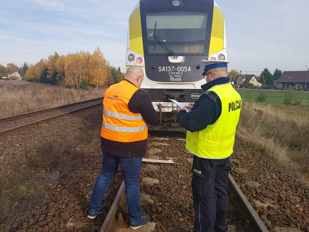 Sarbiewo, woj. lubuskie - tragiczny wypadek na niestrzeżonym przejeździe kolejowym
