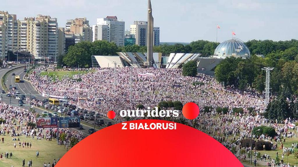 Protesty w Białorusi