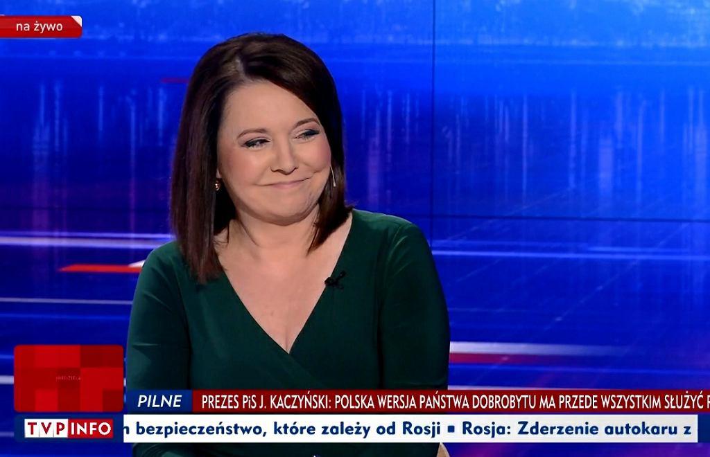 'Gość Wiadomości' z 14 września 2019 roku. Gościem Danuty Holeckiej był szef RMN Krzysztof Czabański