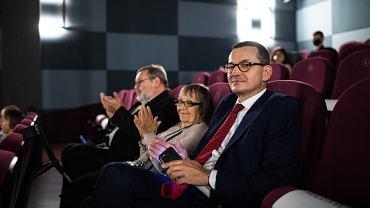 Mateusz Morawiecki w kinie