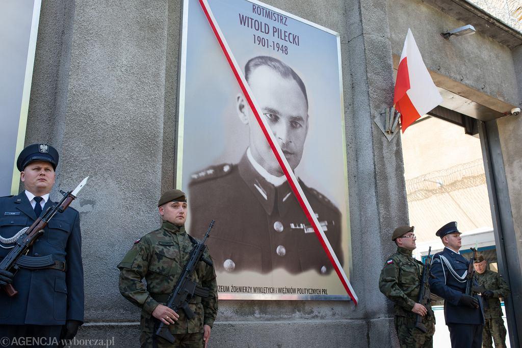 Odsłonięcie portretu rotmistrza Witolda Pileckiego z okazji 70. rocznicy jego śmierci, Warszawa 25 maja 2018 r.
