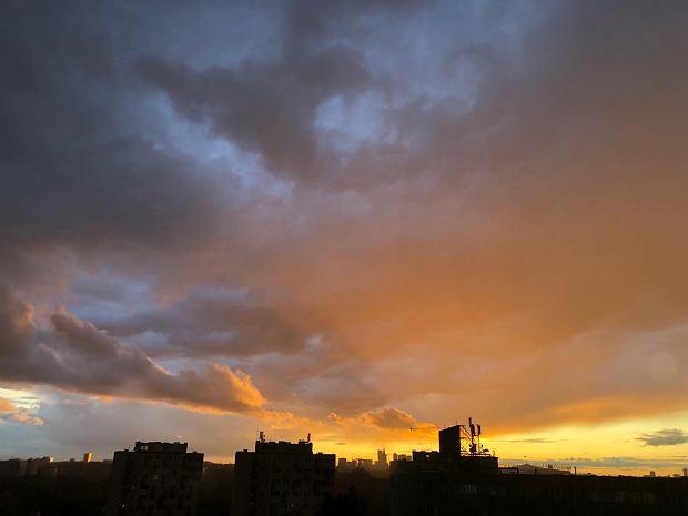 Niebo nad Warszawą