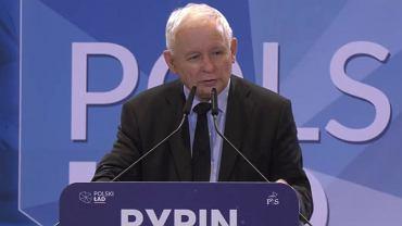 Jarosław Kaczyński w Rypinie (11.07.2021)