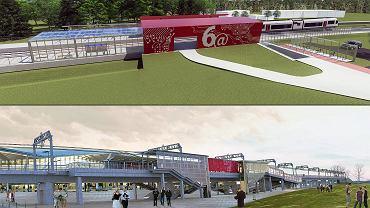 Nowy przystanek Gdańsk Firoga i wizualizacja przystanku PKM Port Lotniczy po zelektryfikowaniu