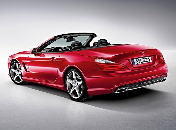 Samochody: Mercedes SL