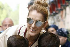 Celine Dion z synami
