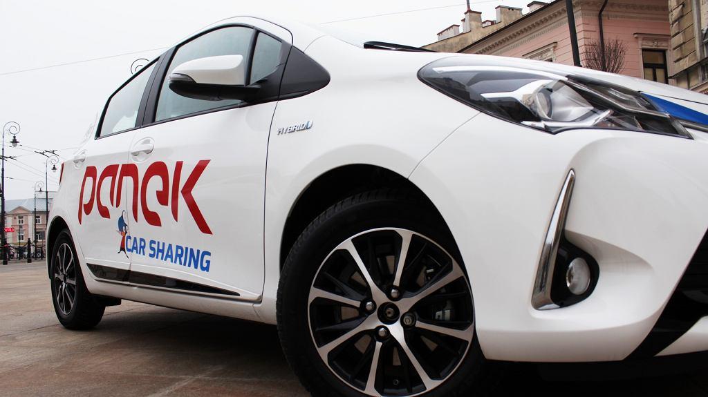 Firma Panek uruchomiła usługę car sharingu w Lublinie