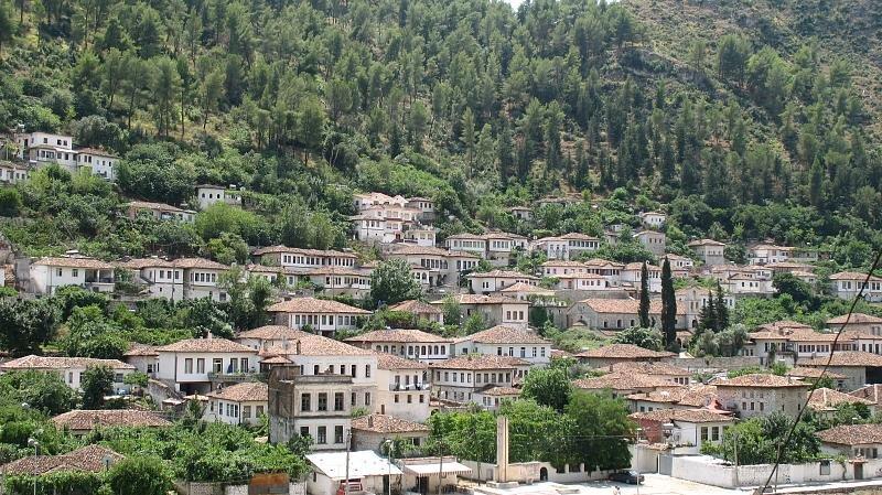 Berat - miasto tysiąca okien