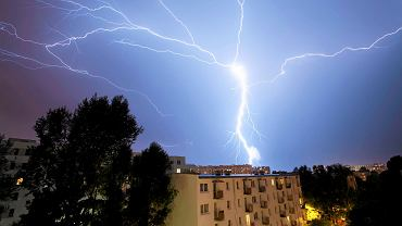 Burza w Polsce - zdjęcie ilustracyjne