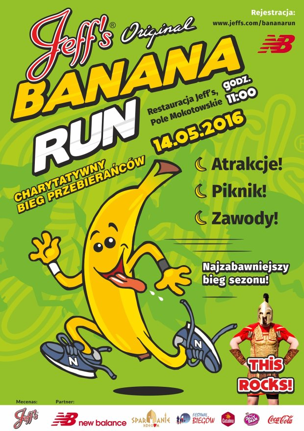 Jeff's Banana Race