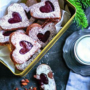 Ciasteczka orzechowo-migdałowe