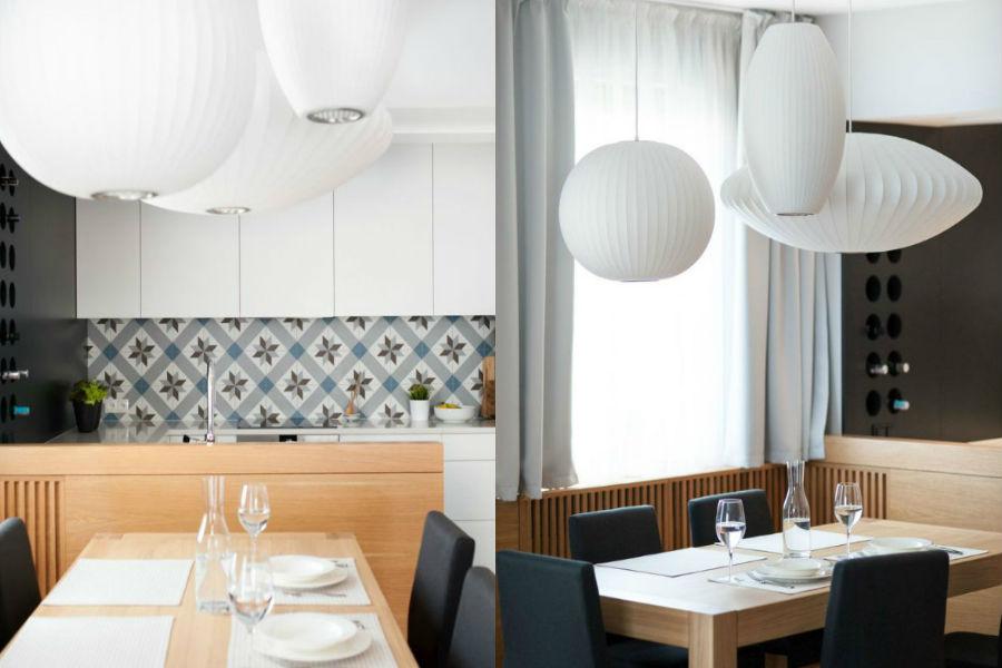 Mieszkanie pełne harmonii i spokoju - kuchnia idealna