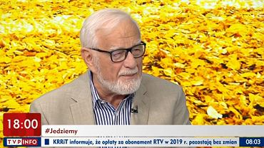 Jan Pietrzak w programie 'Jedziemy dalej' 24.10.2019