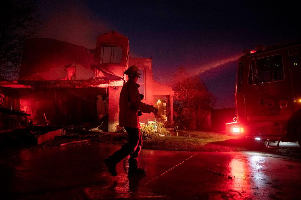 Pożary nawiedziły Kalifornię