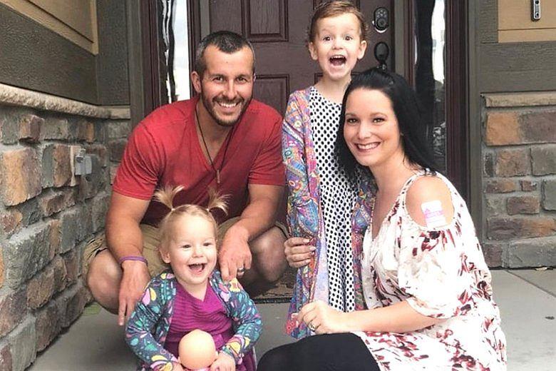 Shannan i Chris z dziećmi
