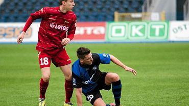 Luka Marić w sparingu Zawisza Bydgoszcz - Lechia Gdańsk 3:1