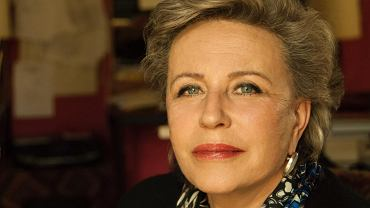 Krystyna Janda zwraca uwagę na problem seniorów
