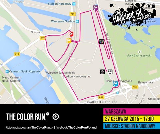 The Color Run by PZU - Warszawa