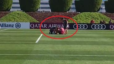 Lewandowski opatrywany