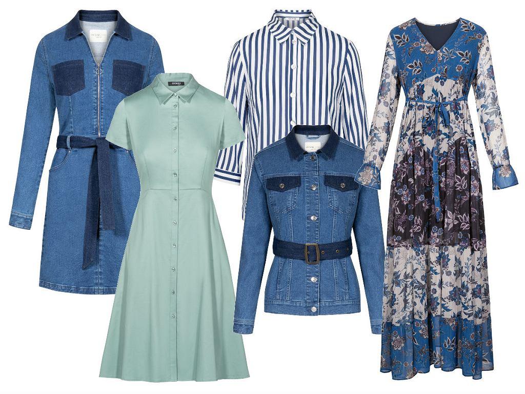 Pięćdziesiąt odcieni koloru niebieskiego - wiosną to zawsze jedna z najpopularniejszych barw