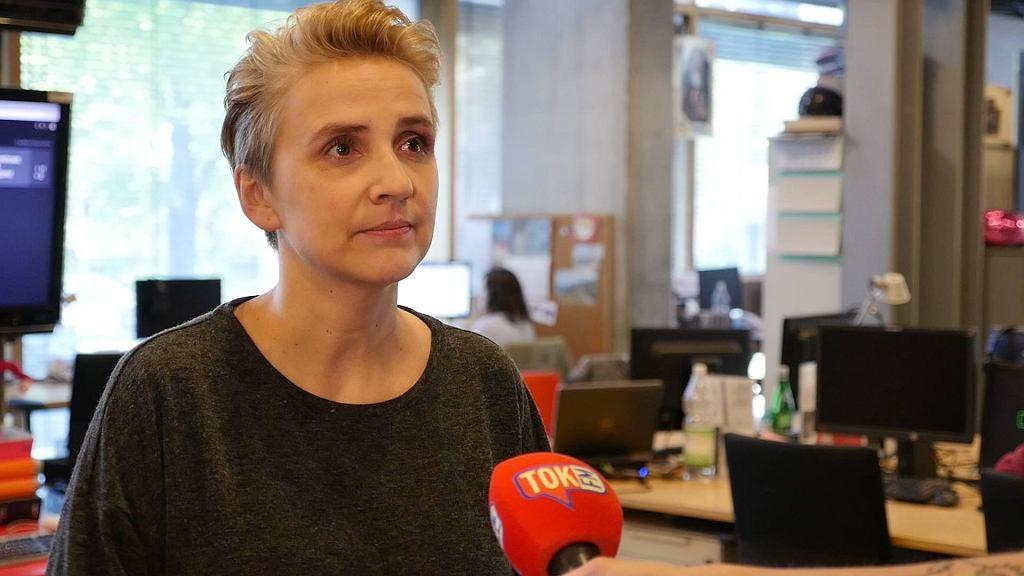 Joanna Sheuring-Wielgus w rozmowie z portalem tokfm.pl.