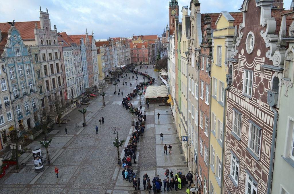 Flagi Gdańska rozeszły się po godzinie