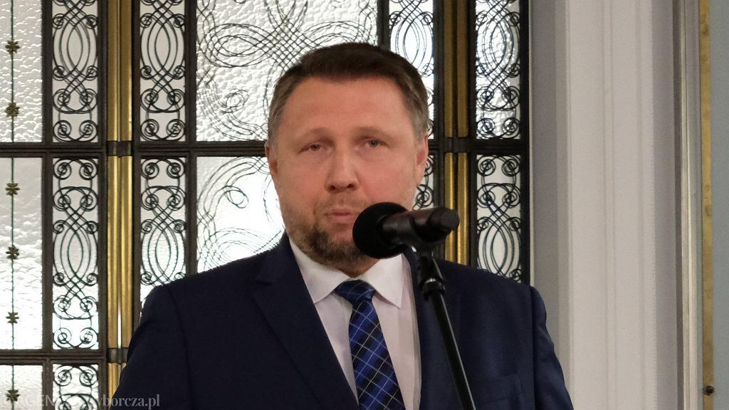 Poseł Koalicji Obywatelskiej Marcin Kierwiński