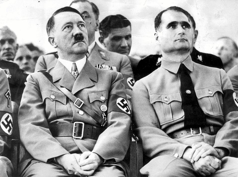 Hitler i Rudolf Hess.