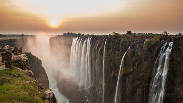 Wodospady Wiktorii znikają w zatrważającym tempie