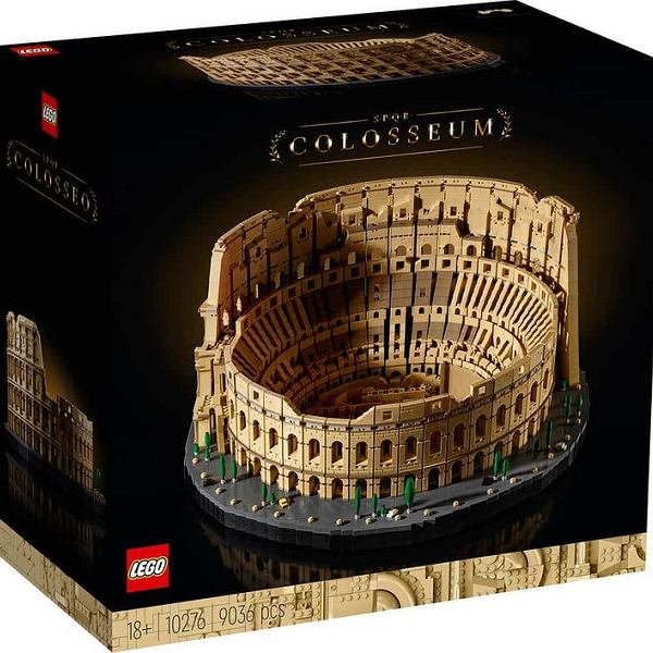 Koloseum z klocków Lego