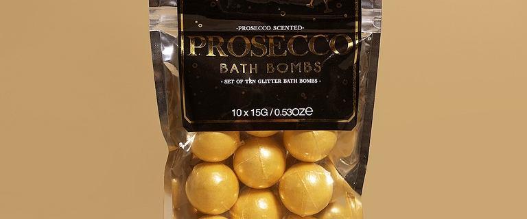 Zapachowa kąpiel domowa. Może z kulami Prosecco?