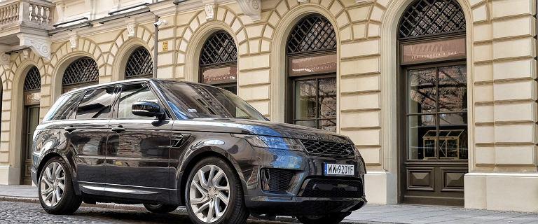 Nowocześnie i luksusowo w teren - Range Rover Sport nadaje się nie tylko na drogi