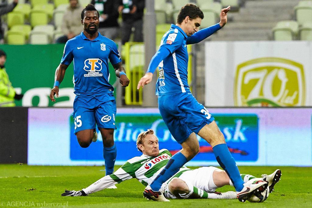 Lechia Gdańsk - Lech Poznań 0:1. Marcin Kamiński