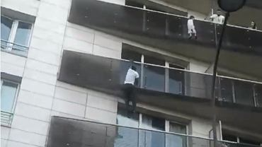 ''Spiderman'' w Paryżu