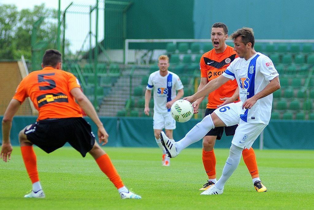 Lech Poznań - Zagłębie Lubin 3:0 w sparingu. Radosław Majewski