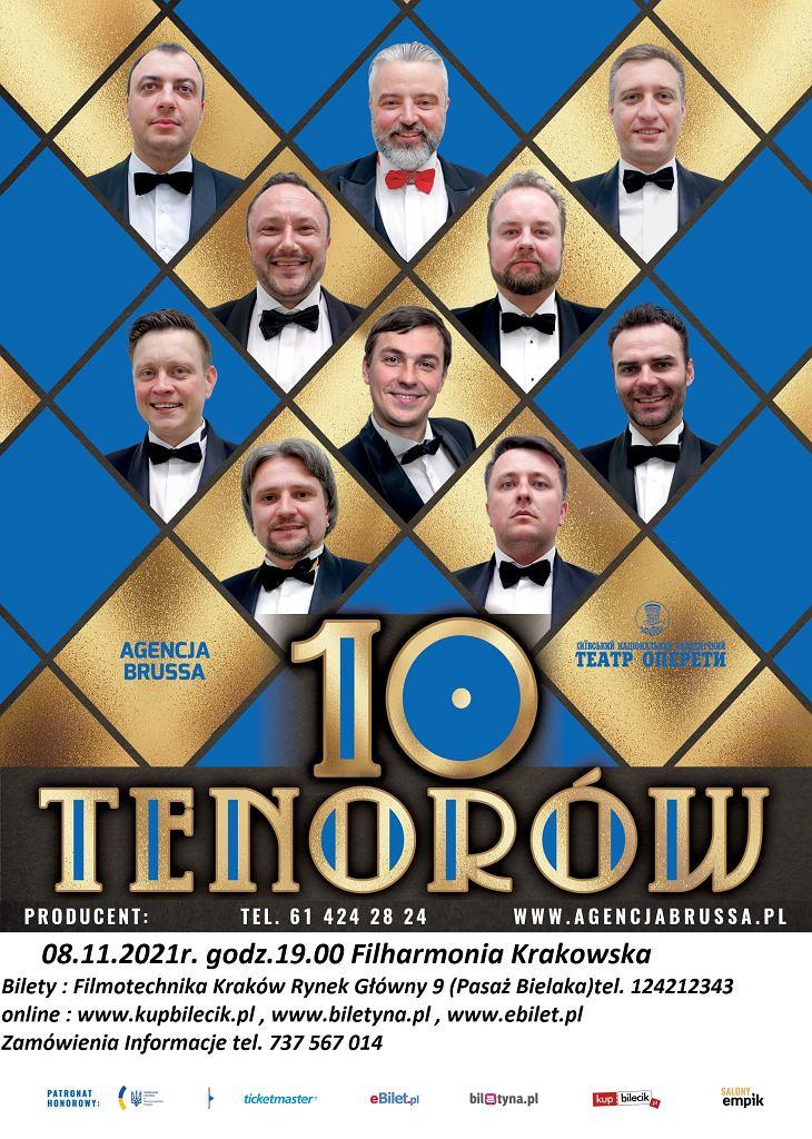 10 Tenorów w Krakowie