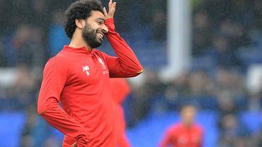 Mohamed Salah przed meczem z Bayernem Monachium