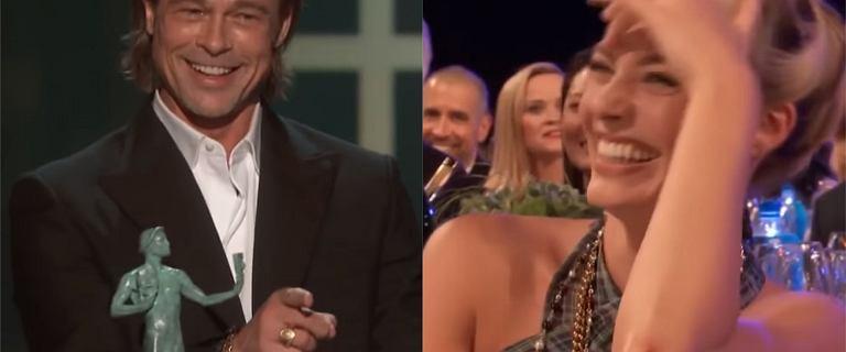 Brad Pitt wygrał swoją przemową. Sala wybuchła śmiechem