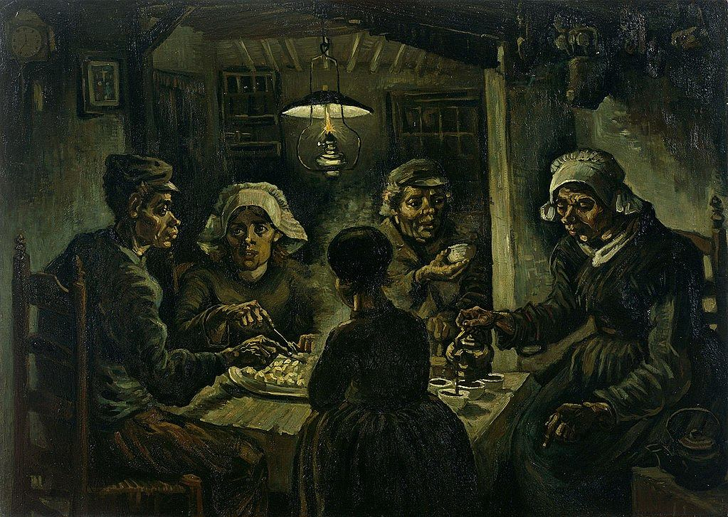 Vincent van Gogh, Jedzący kartofle, 1885