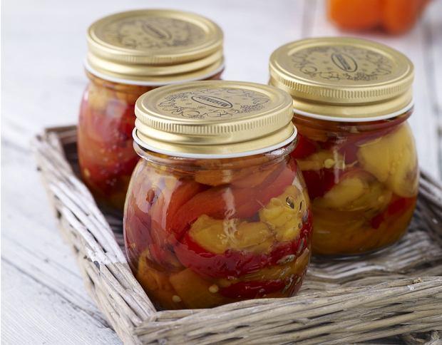 Grillowane papryki w oliwie