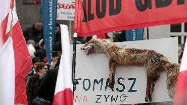 Marsz Wolności i Solidarności PiS w Warszawie