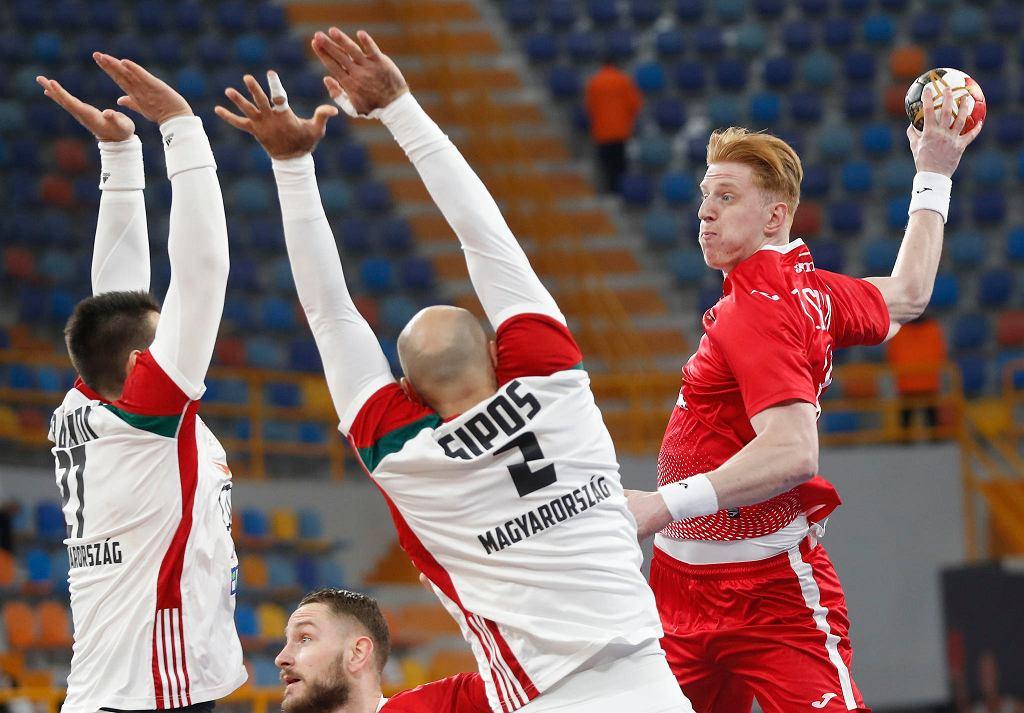 Egipt, Kair, 23.01.2021. Mistrzostwa świata piłkarzy ręcznych: Polska - Węgry