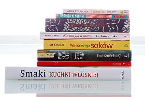 Książki kulinarne - porcja lektur na czerwiec