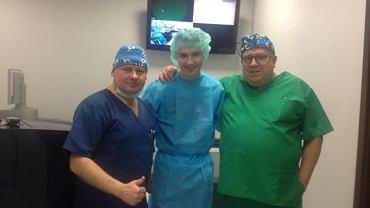 Klemens Muranka po operacji oczu