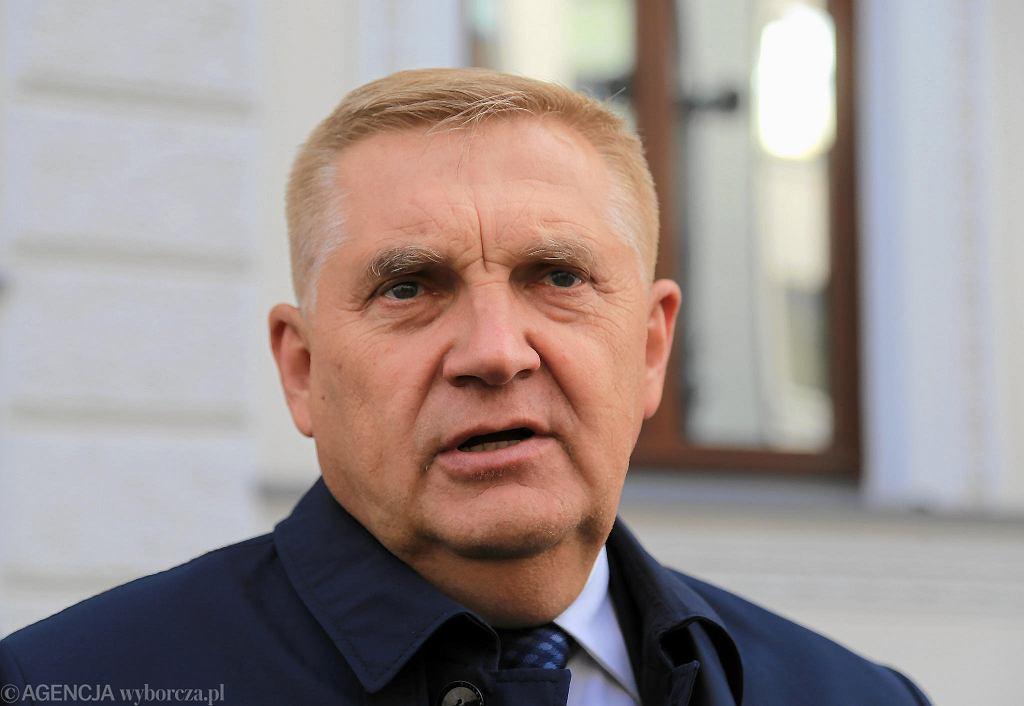 Radny Marek Szolc. Warszawa, 8 sierpnia 2019