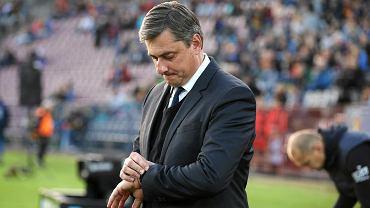 Trener Maciej Skorża odlicza, ile jeszcze ma czasu na naprawienie Pogoni