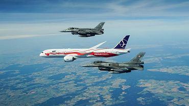 Nowy dreamliner LOT w barwach narodowych