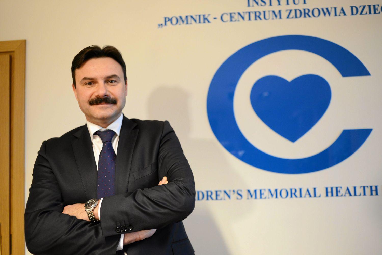 Prof. Mariusz Kuśmierczyk, prezes Polskiego Towarzystwa Kardio-Torakochirurgów Polskich (Fot. Franciszek Mazur / AG)