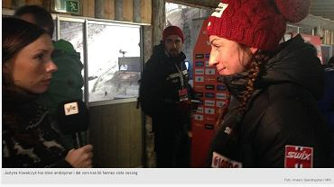 Justyna Kowalczyk mówi w rozmowie z NRK.no, że biegi 'łyżwą' sprawiają jej ból